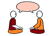 Meditatief communiceren seculier
